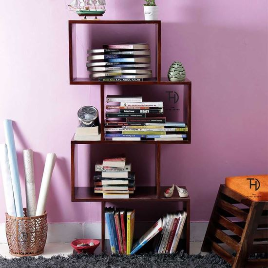 Solid wood bookcase online