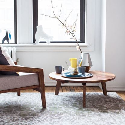 Round coffee table online