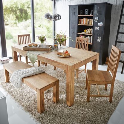 Buy wooden dining table set online