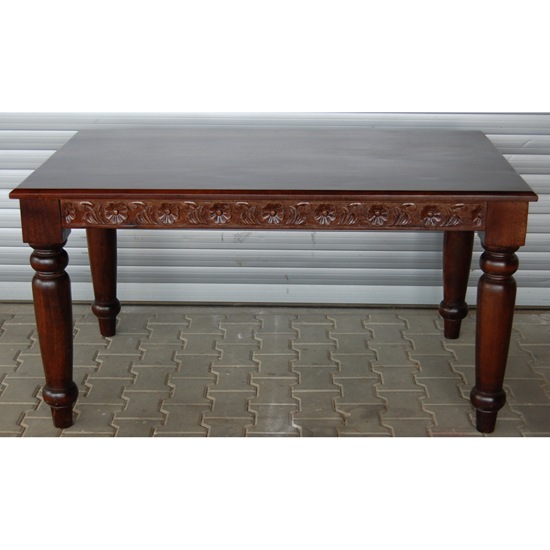 Buy Solid wood dining table online at best prices