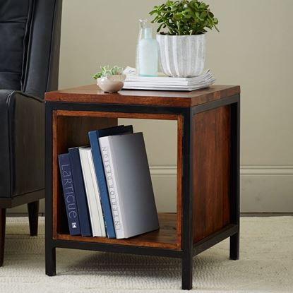 Buy Industrial Side Table