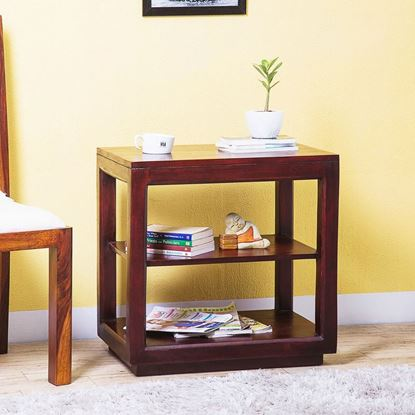 Buy Wooden furniture online Austin side table