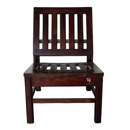 Buy Sheesham Wood Furniture Online  Amira Low Chair