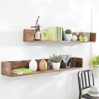 Buy Woodstock wall rack  online for living room