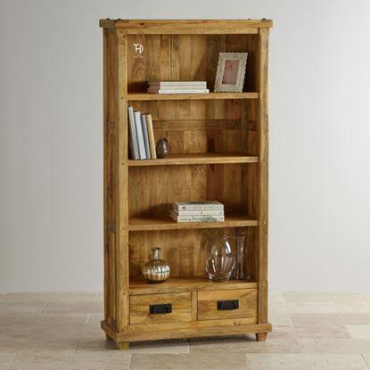 Solid wood bookshelve