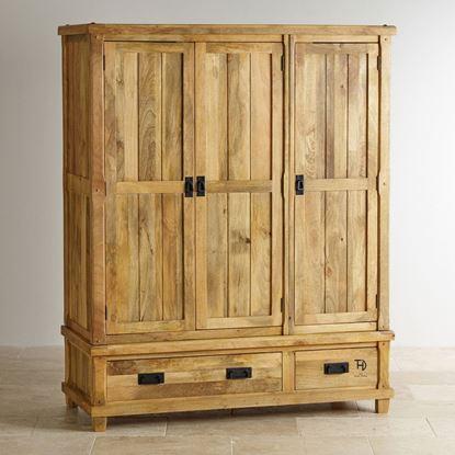 Solid wood wardrobe online