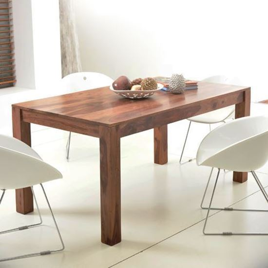 Wooden eight seater dining table