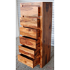 solid wood tallboy chest of drawers