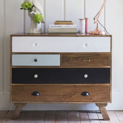 Shambhu Chest of Drawers in Solid Wood