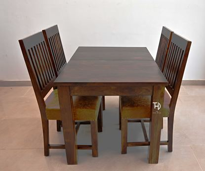Buy solid wooden dining table set