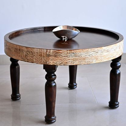 Buy Solid wood coffee table online at discount