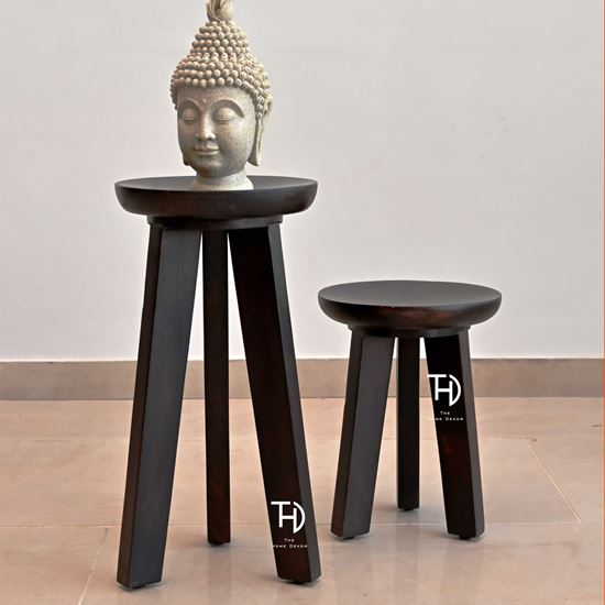 Solid Wood Round Stool online