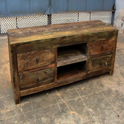 Recycled Tv unit