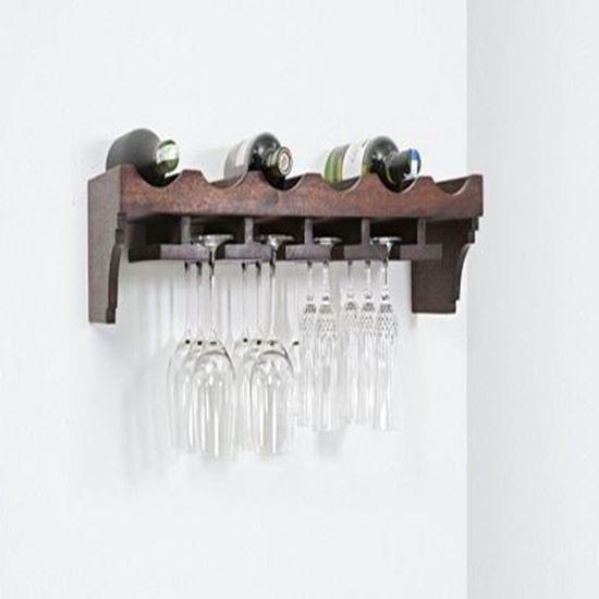 Buy wall rack cum wine hanger online