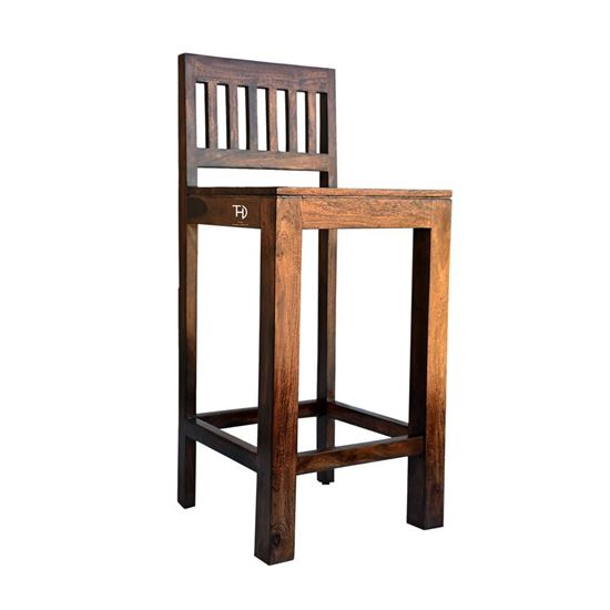 Pure Wood Bar Chair online