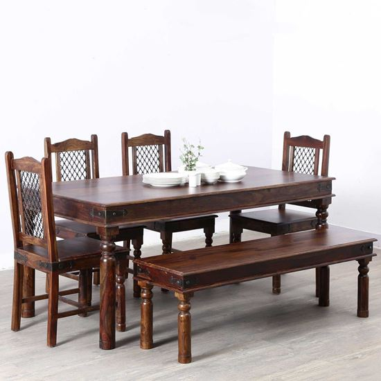 Buy six seater dining table online