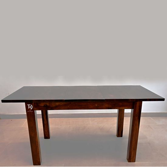 Buy Badhao Extendable Dining in Walnut finish