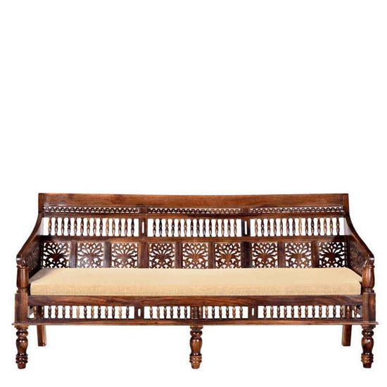 Buy Online Furniture Rajasthani Sofa 3 Seater