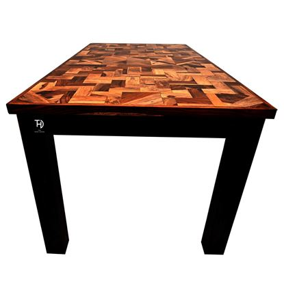 Buy Solid wood dining table online on discount