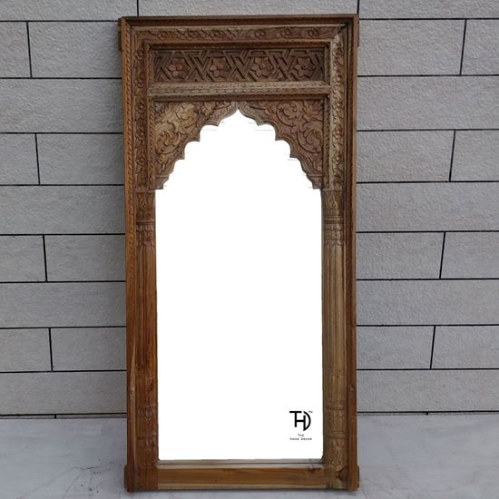 Buy wooden mirror frame with hand carving