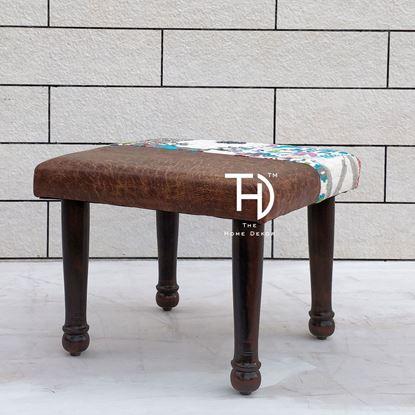 buy Kaira sitting Stool Solid Wood