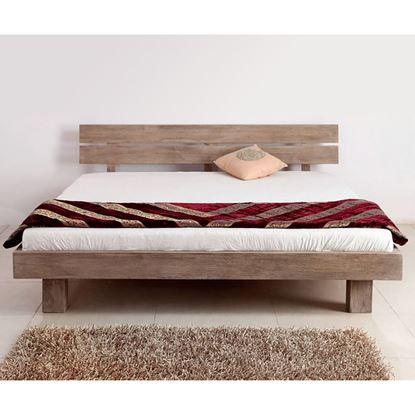 Buy Bed in mango Wood for Bedroom Furniture