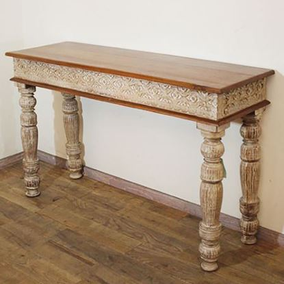 Buy Solid wood console table online at discount