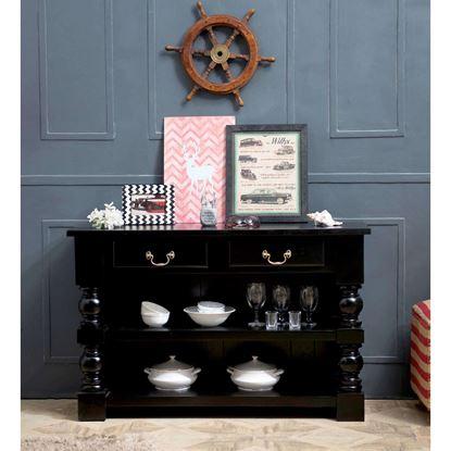 Black console table Sydney