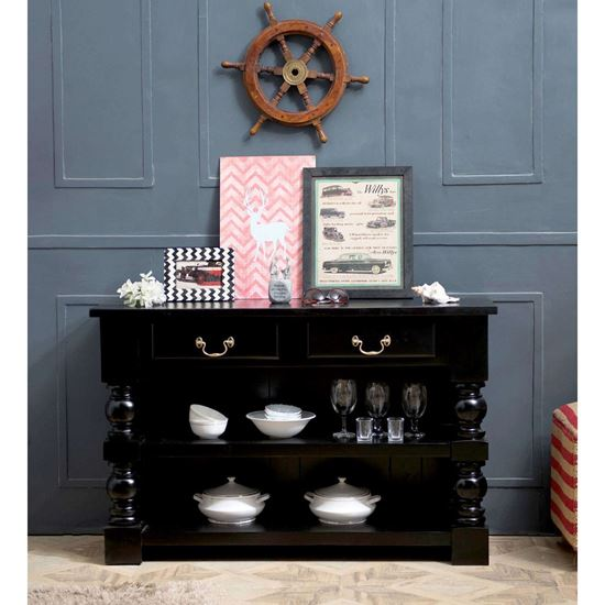 Black console table Sydney
