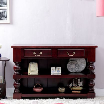 Buy solid wood console table