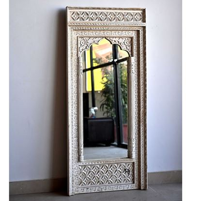 Buy Hand carved Designer mirror frame for Decor Room Furniture