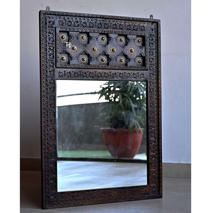 Buy Bhakra Mirror Frame for Decor Room Furniture