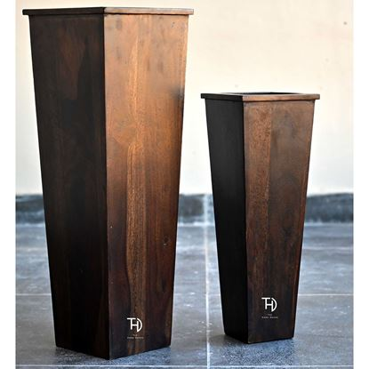 Buy solid wood planter