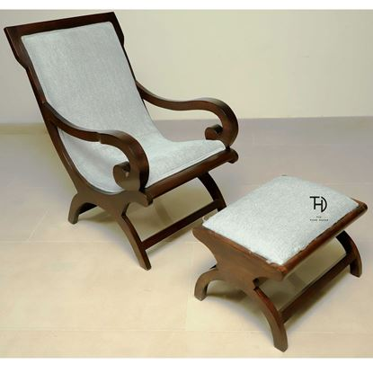 Buy Rambo Relax chair & stool for Living Room Furniture