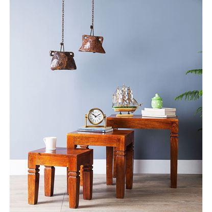 Buy wooden stool set