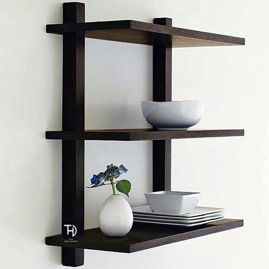 Buy Trio Woody Wall Rack for Living Room