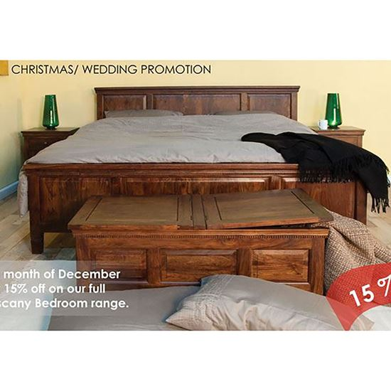 Buy Tuscany Bed for Bedroom Furniture