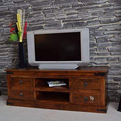Buy TV Cabinet 4 Drawers for Living Room Furniture