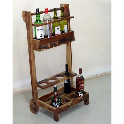 Buy Wine trolly for Bar furniture