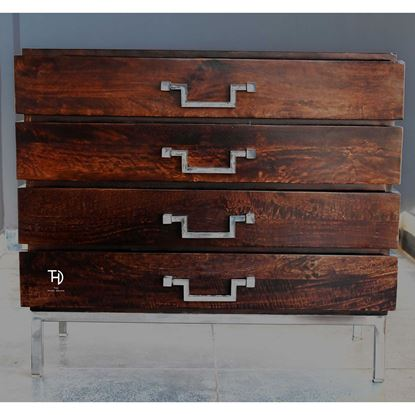 Buy Hottoh wooden chest of drawers online