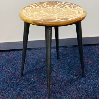 Epoxy Side Table
