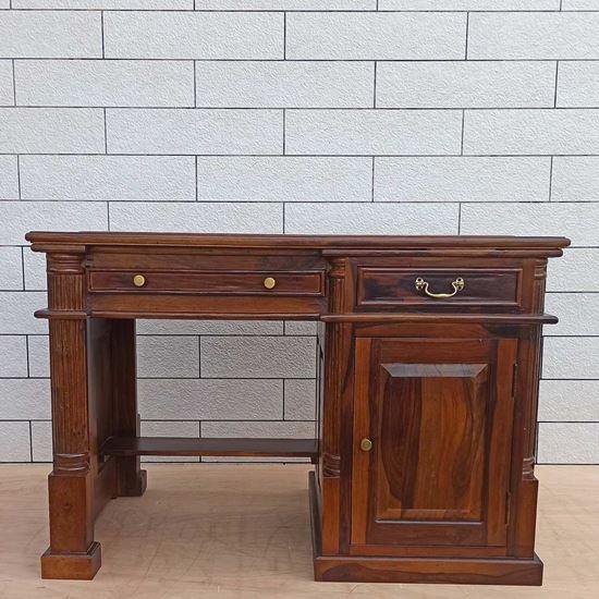 Carved Computer Desk