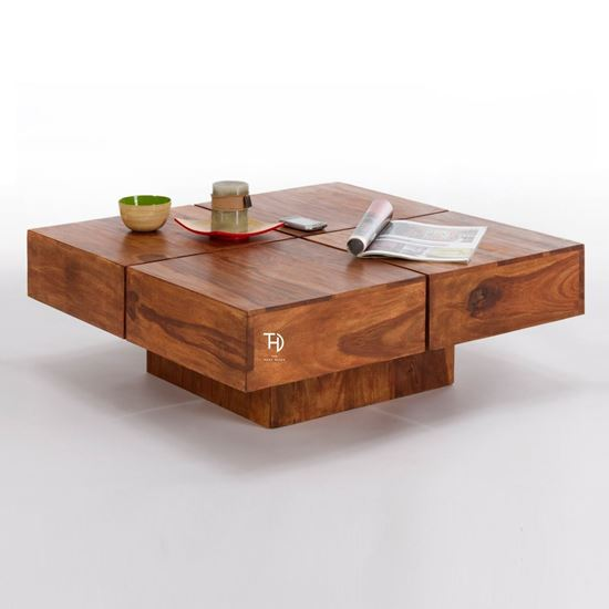 Buy Bombay Square Coffee Table online at factory price
