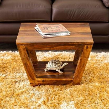 Real wood Coffee table honey